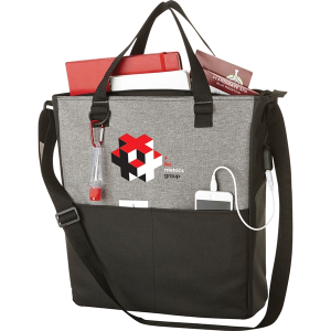 Cameron Convention Tote with USB Port